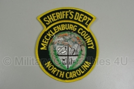 Mecklenburg County Police patch - origineel