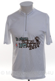 KMAR Koninklijke Marechaussee 3FM Serious Request 2014 shirt - maat Small - origineel