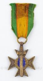 Belgische bronzen medaille - Origineel