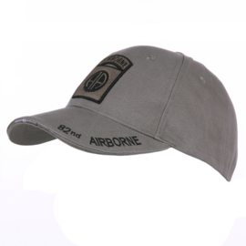 Baseball Cap 82nd airborne Division GREY