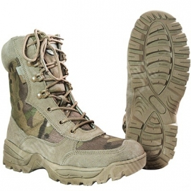 Tactical boot - Double Zip - Multicam