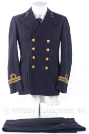 """KM USNavy uniform jasje en broek rang """"Luitenant te Zee 2de klasse oudste categorie"""" - maat 35 regular - origineel"""