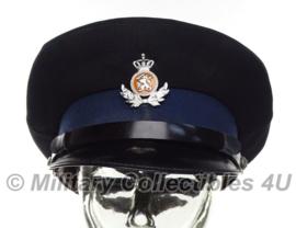 KMAR Koninklijke Marechaussee platte pet onderofficier 1960 - maat 55 - origineel