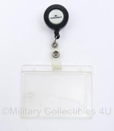 Defensie ID houder - Merk Durable - 15,5 x 9 cm - origineel