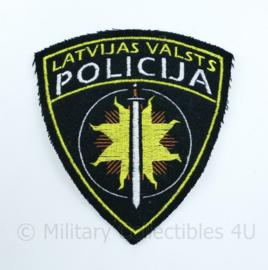 Letland Latvijas Valsts Policija embleem - 11 x 12 cm - origineel