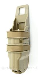 Nederlandse Leger glock 17 hard kunststof magazijntas Coyote - 13 x 4,5 x 3 cm - origineel