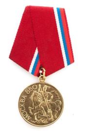 Russische medaille 850 jaar Moskow  - origineel