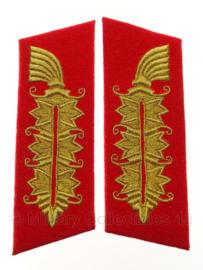 Generalfeldmarschall kraagspiegel Paar replica wo2 Duits Heer - 3 secties