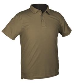 Tactical Quick Dry Poloshirt korte mouw - met klittenband op de mouwen - GROEN - nieuw gemaakt