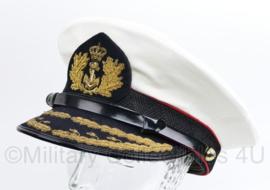 Korps Mariniers hoogste rangen platte pet - maat 56 - origineel