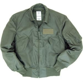 US Jacket, Flyers, Men's zomer vliegeniers/piloten jas - licht gebruikt - maat Large (42-44) - origineel