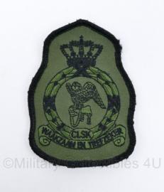 Klu Luchtmacht embleem CLSK Commando Luchtstrijdkrachten - met klittenband - 11,5 x 8 cm origineel