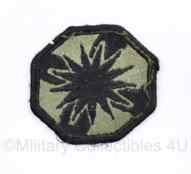 US Army Naoorlogs subdued embleem 13th Sustainment Command - 6 x 6 cm - origineel