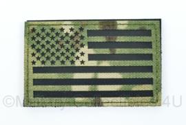 Amerikaanse leger infrarood patch - multicam - met klittenband - Amerikaanse vlag - 5 x 8 cm