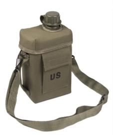 US Patrol Canteen veldfles 2 liter GROEN - nieuw gemaakt