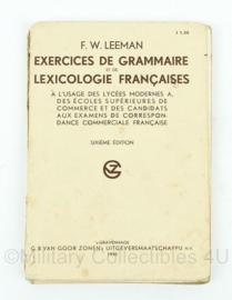 Lesboek  Franse taal uit 1935 - origineel