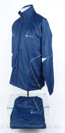KL Nederlandse leger sport trainingsjas, lange broek en shirt - goede staat - Li-ning - maat L/XL - origineel