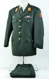 KL DT2000 uniform jas met broek Kapitein Heli instructor luchtmobiele brigade, garde grenadiers - maat  52 1/4  - origineel