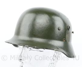 Replica WO2 Duitse helm omgebouwde naoorlogse fiber helm - maat 58
