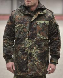 BW Bundeswehr Parka flecktarn (zonder voering) - topstaat - origineel