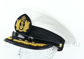 Koninklijke Marine platte pet hoofdofficier KLTZ-KTZ - maat 59 - Origineel