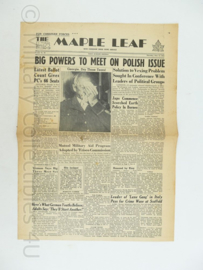 Krant Maple Leaf - 14 June 1945 -  origineel