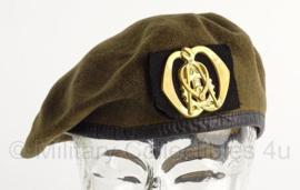 KL Nederlandse leger baret Technische Dienst - maat 57 - origineel