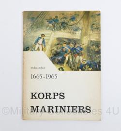Korps Mariniers 1665 - 1965 - origineel