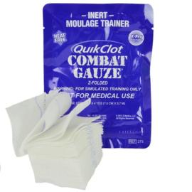 QuikClot Combat Gauze hemostatisch Z fold -  INERT MOULAGE TRAINER