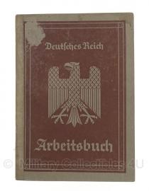 Arbeitsbuch 15 augustus 1935 - origineel Wo2 Duits