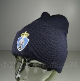 Kmar Koninklijke Mariniers Leger  wintermuts met logo - one size - nieuw in verpakking met NSN nummer - origineel