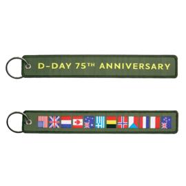 Sleutelhanger D-Day 75th Anniversary - 20,5 x 3 cm