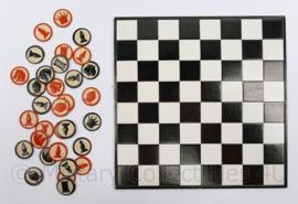 wo2 schaakspel Duitse Feldpost Wehrschach - 24 x 12 x 2 cm - origineel