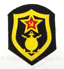 Russische USSR Engineering  arm embleem - 8,5 x 6,5 cm - origineel