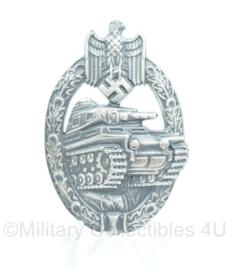 Panzerkampfabzeichen in Zilver - met maker