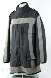 Nederlandse Brandweer jas huidig model donkerblauw en reflecterend - maat  54 of 56 - origineel