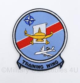 Luchtmacht Training Wing Nato Awacs embleem -  10 x 9 cm - origineel