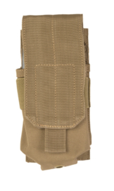 Magazijntas Single M4/M16 Magazin pouch koppeltas - MOLLE draagsysteem - 8 x 5 x 17 cm - COYOTE