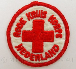 Rode Kruis Korps Nederland embleem - doorsnede 5 cm - origineel
