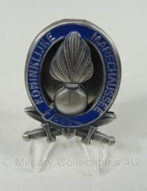 KMAR Marechaussee brevet metalen borst insigne - 4,5 x 3,5 cm - origineel