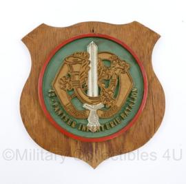 Defensie wandbord Limburgse Jagers 42 Pantser Infanteriebataljon - origineel
