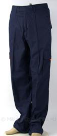 Lange tactische broek Overheid - donkerblauw - maat 42 of 44 -  gedragen - origineel
