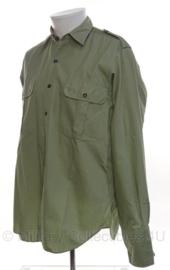 KL Nederlandse leger MVO overhemd - ongedragen - lange mouwen - maat 38 - origineel