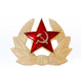 Russische officiers pet speld - origineel