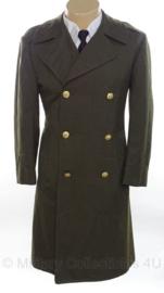 USMC Marine Corps mantel 1980 - overcoat men's wool - maat 38S (=NL 48 kort) - origineel