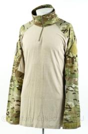 US Army Custom Crye Precision G3 combat shirt - met zeldzame US infrared patch en YPG koerdische patch - Multicam - maat Large Long - licht gebruikt - origineel