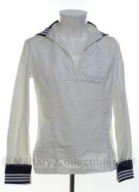 Koninklijke Marine Matrozen hemd WIT Baaienhemd - 50/60'er jaren - maat Extra Small - origineel