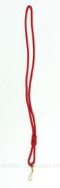 Rood koord - afmeting 62,5 x 2 x 0,4 cm - origineel