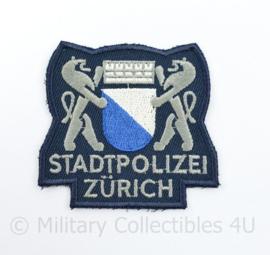 Zwitserse Stadtpolizei Zurich embleem - 7,5 x 7,5 cm - origineel