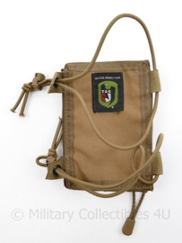 Defensie coyote arm office pouch - merk TAG Tactical Assault Gear -15,5 x 11 cm -  origineel
